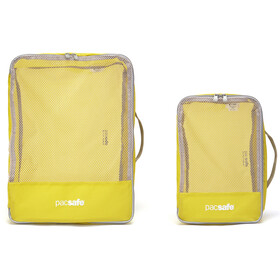 Pacsafe Travel Packing Cubes, citronelle